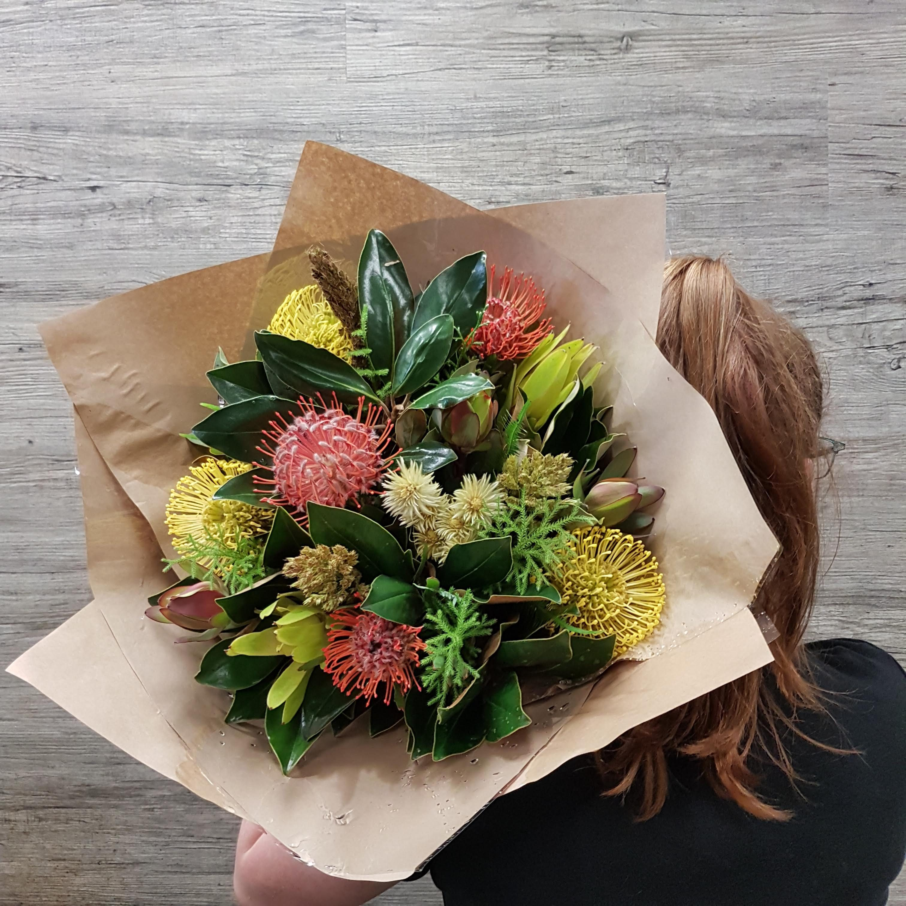 Native And Wildflower Bouquet Flower Deliveries Online